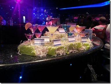 Piano bar drinks