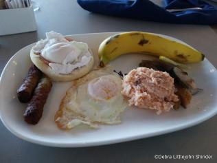 Tom's buffet breakfast