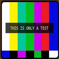 only a test