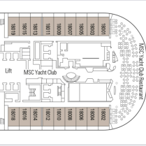 Mera deck 18 YC deck plan